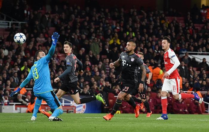 Bayern por la vía del cloroformo noquea a Arsenal