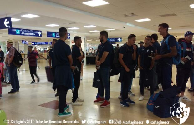 Viaje exitoso del Club Sport Cartaginés