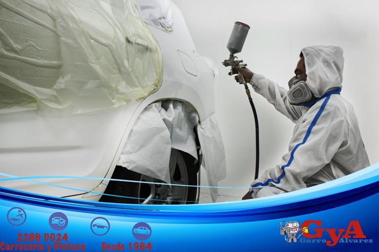 Factores que provocan el cambio del tono del color en la pintura del carro.