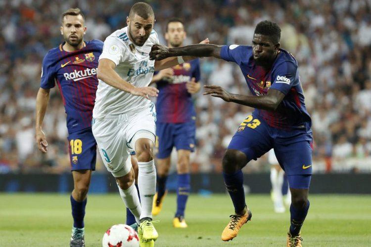 Real Madrid empieza la conquista del triplete, derrotando al Barça y se deja la Supercopa de España