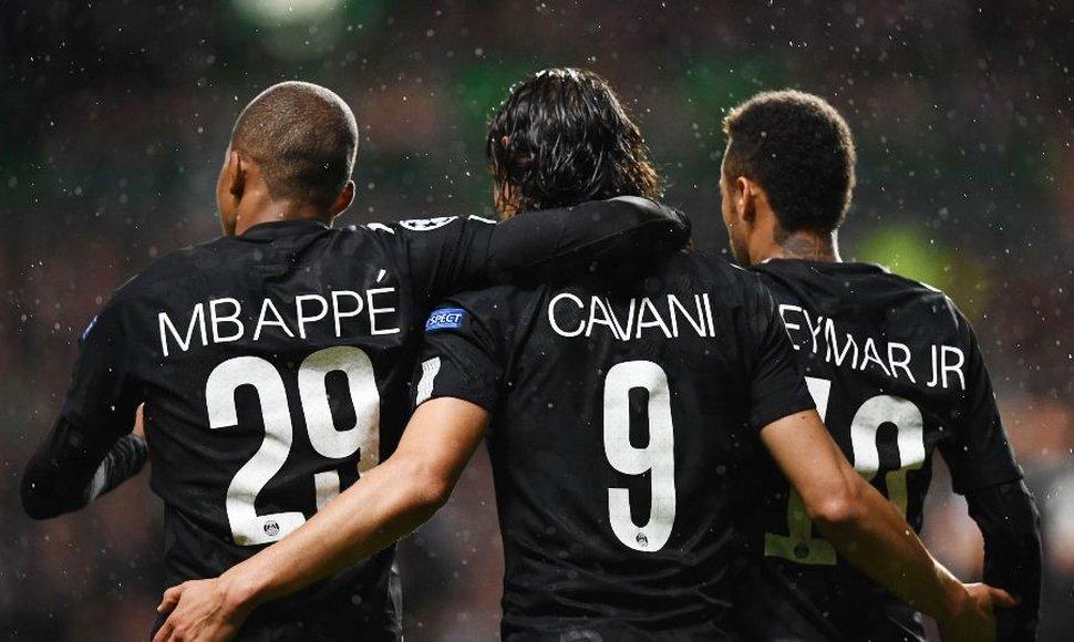 El trío Neymar-Mbappé-Cavani aterriza en Europa con una goleada