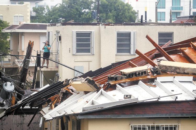 Huracán Irma deja en Florida más de 3.5 millones de personas sin electricidad