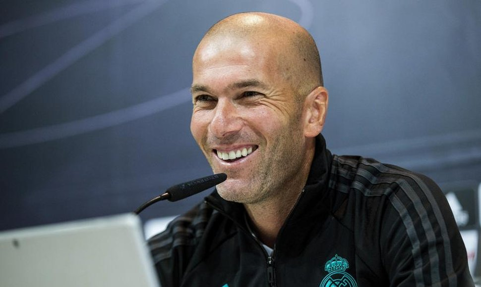 El Real Madris de Zidane con tremenda racha de los jugadores