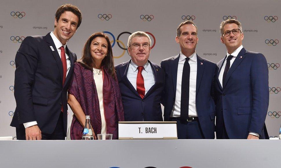 París-2024 y Los Ángeles-2028 confirmadas para albergar las Olimpiadas