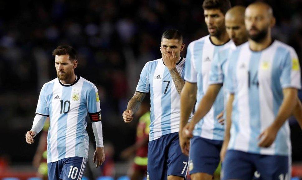 El Matador dice que Argentina debe sacarse la mala suerte, sino se quedará sin Mundial
