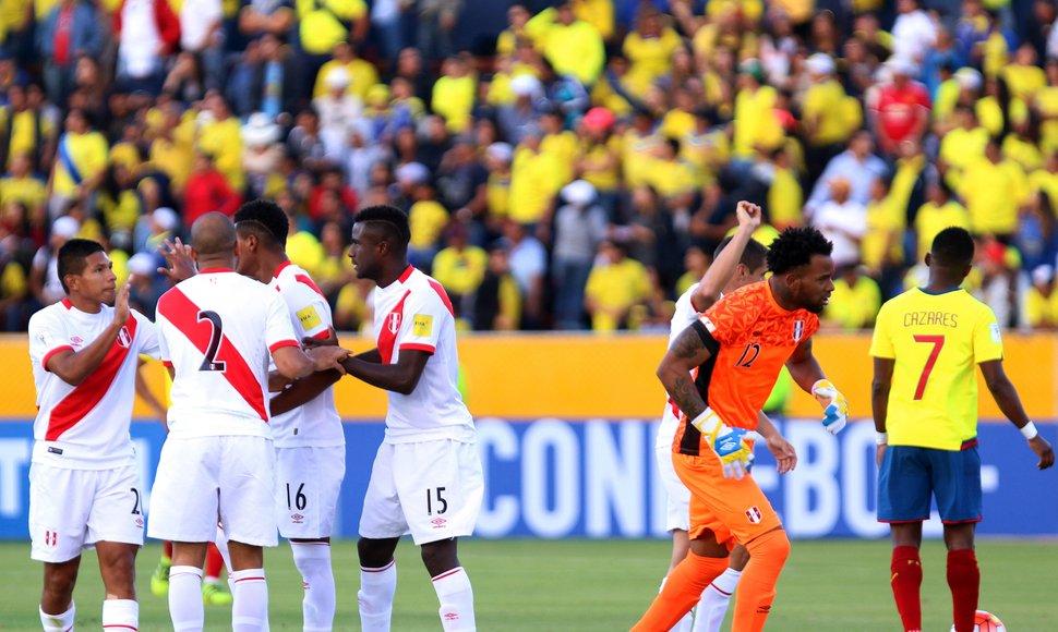 Perú se mete por la ventana a Rusia 2018… por ahora!!