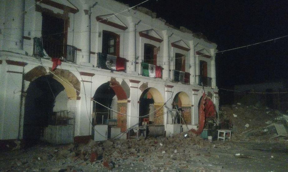 Terremoto de 8.2 grados en el sur de México deja al menos 32 muertos