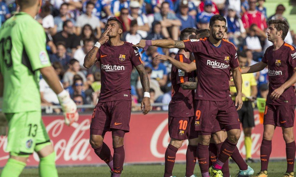 La victoria del FC Barcelona vino desde la banca con Paulinho