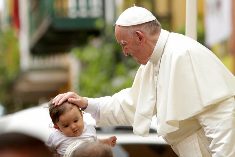 El papa Francisco con sus frases conquistó el corazón de los colombianos