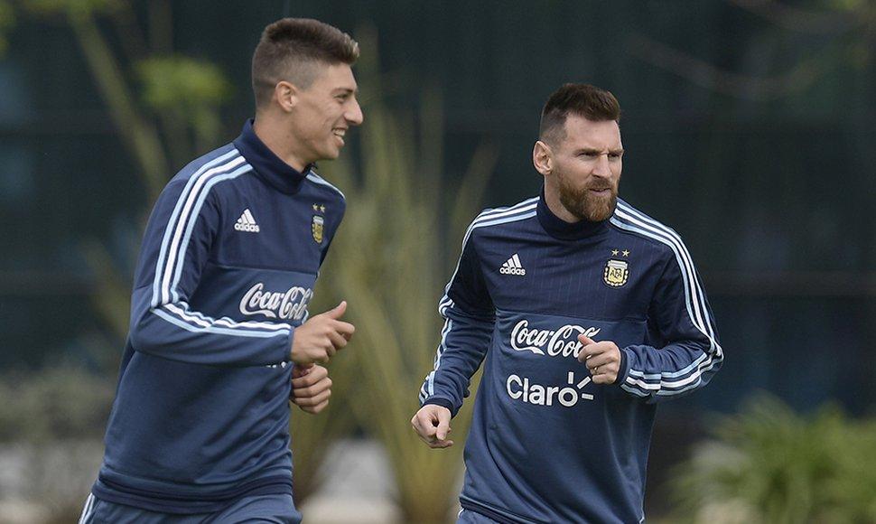 Argentina necesitada de sumar