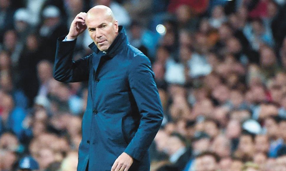Zidane ….. lo unico que me falta ganar es la Copa del Rey