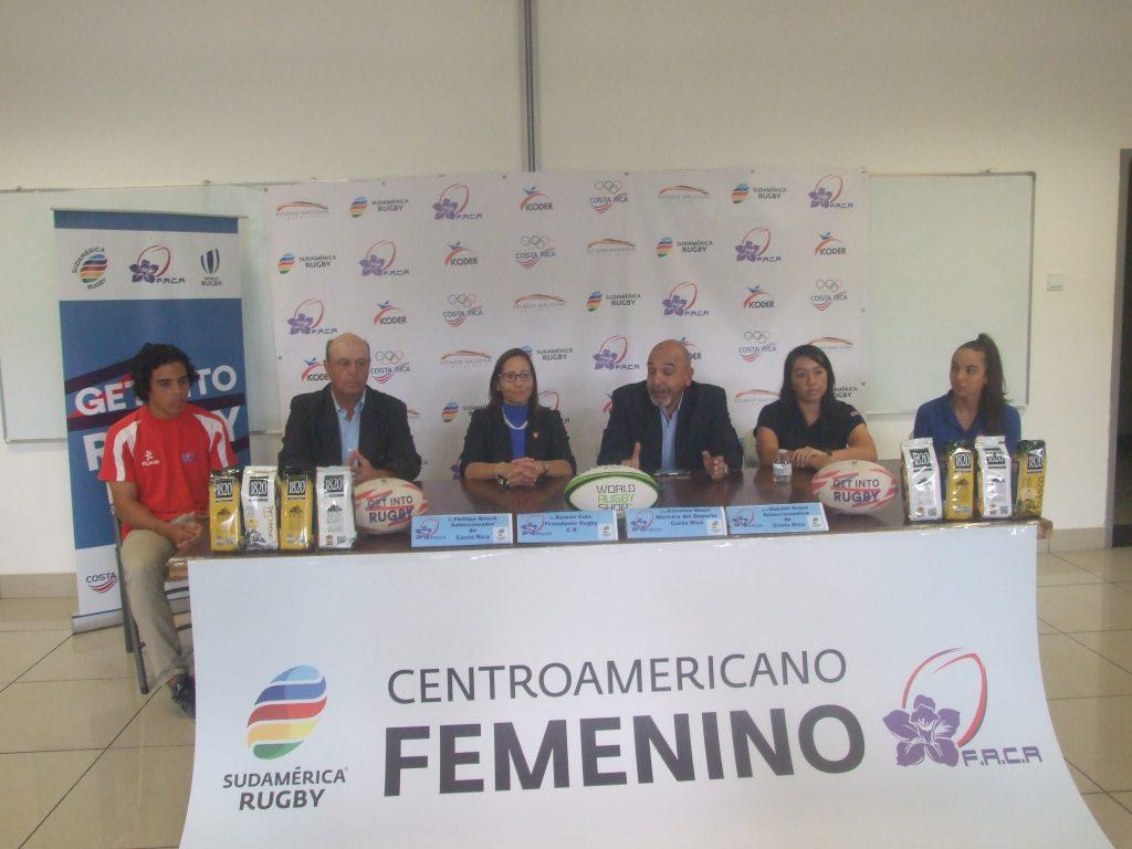Costa Rica sede de dos históricos torneos intencionales Juvenil Masculino y Femenino Mayor de Rugby