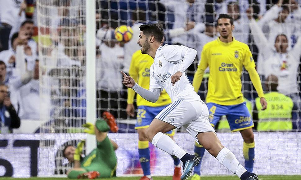 Real Madrid golea 3-0 a Las Palmas