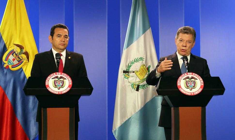 Gobierno chapin desea comprar buques de guerra a Colombia