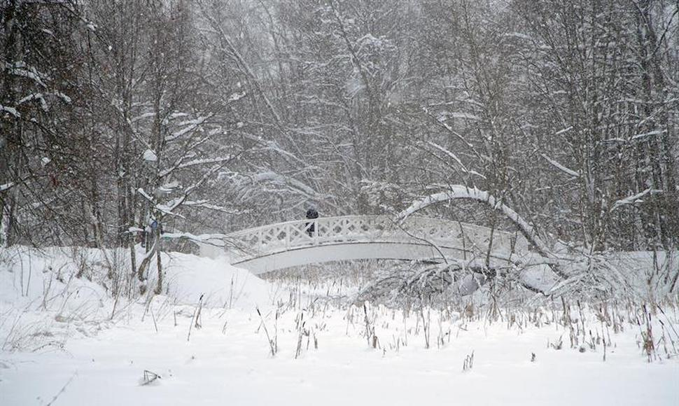 Moscú sepultada por la nieve