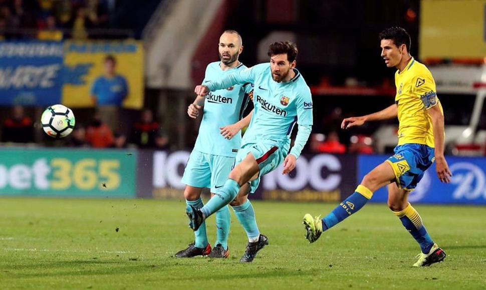 Barça empata a 1 ante las Palmas