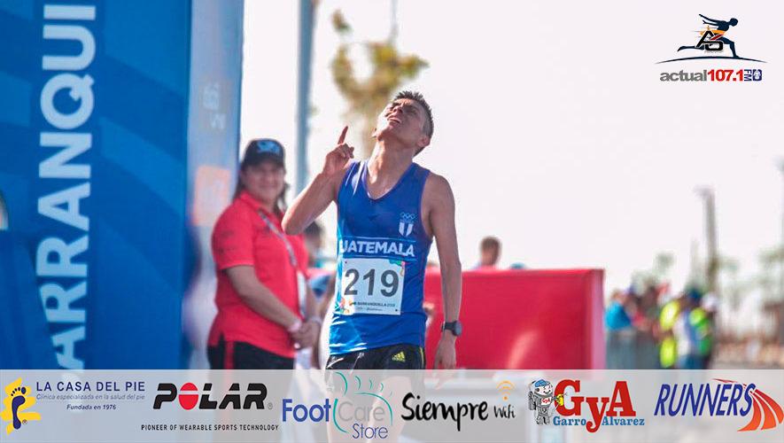 Atleta chapín ve truncado sueño de correr en la Maratón de Houston 2019