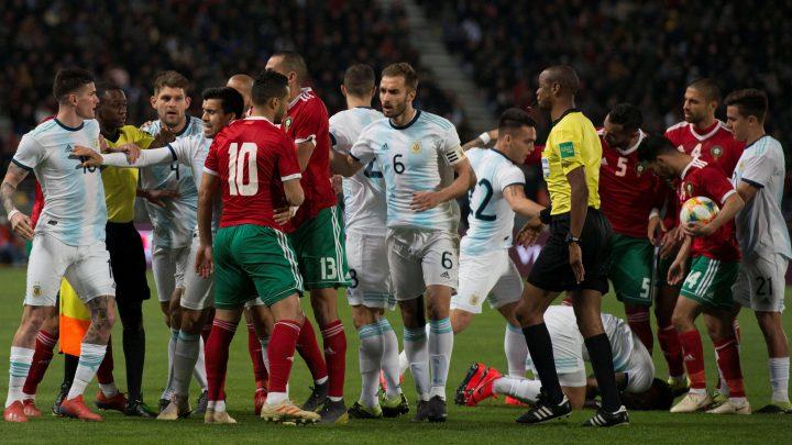 Por la mínima Argentina derrota a Marruecos