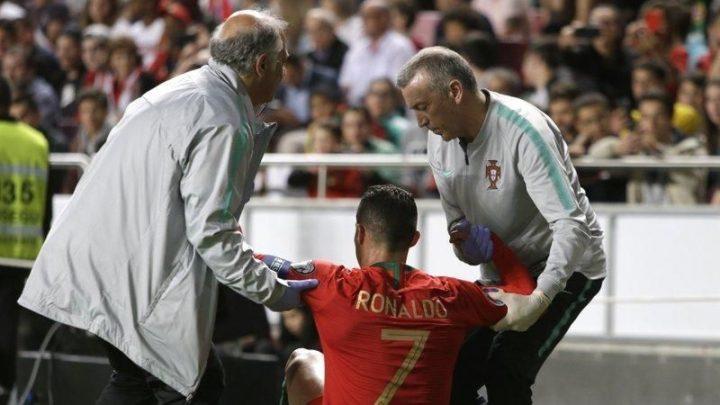 La Juve confirma lesión de CR7