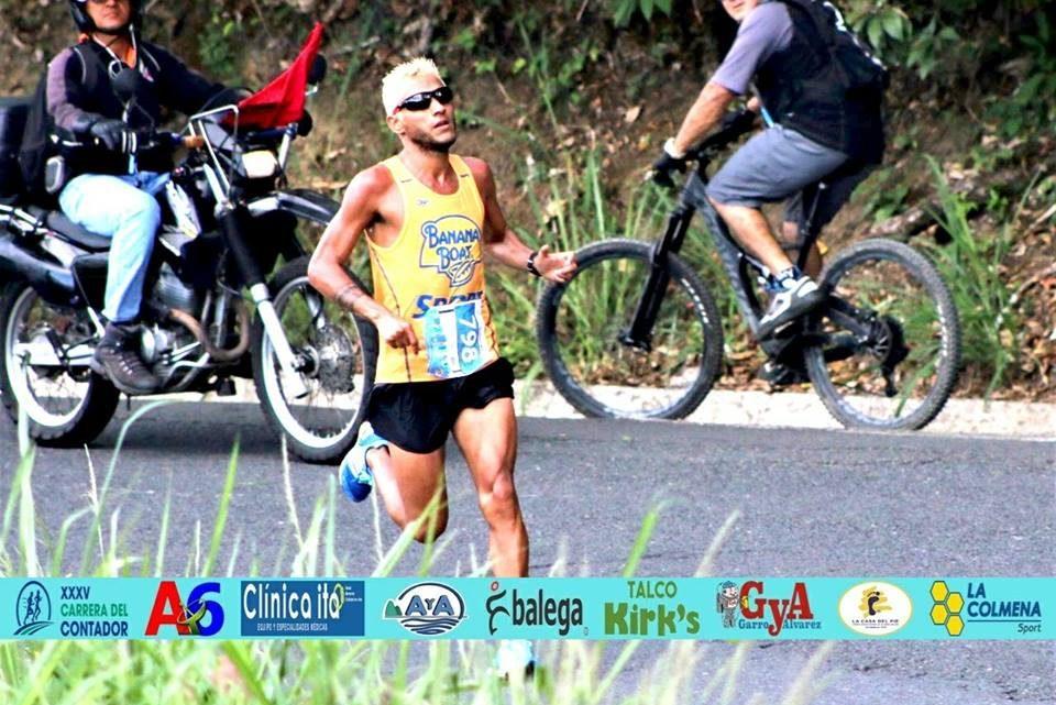 Angelo Olivo es el atleta de la semana en Fartlekeando