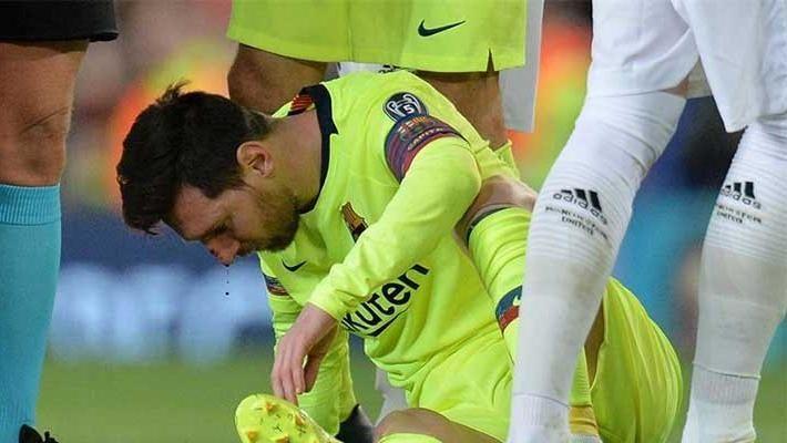 Parte médico de Lionel Messi, ayer no estuvo en el entrenamiento