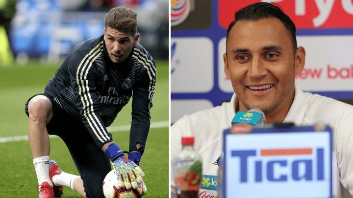 Keylor Navas habla sobre su reacción luego de ser enviado a la banca por Luca Zidane