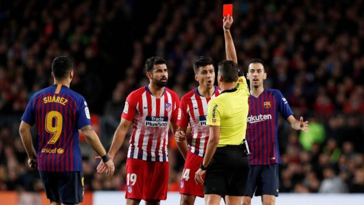 Atlético apelará sanción de Diego Costa