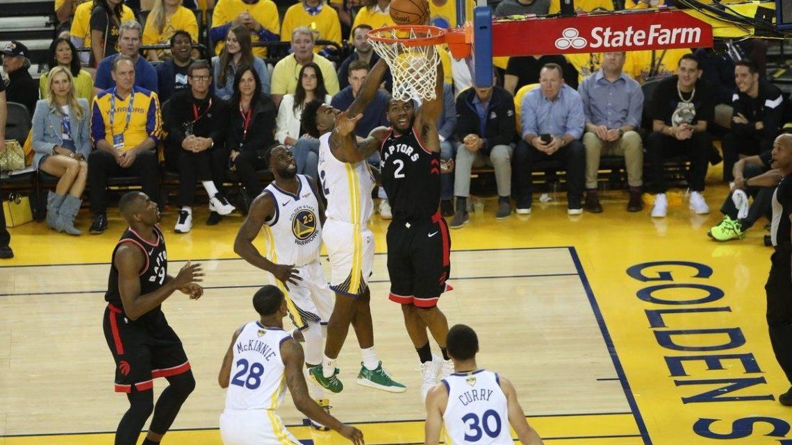 Toronto Raptors se imponen a Golden State 123 – 109 adelantos en la serie 2-1 en la NBA