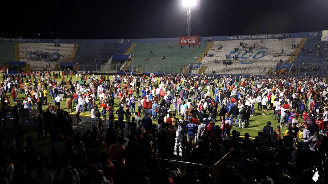Periodista Hondureño cuenta como vivió la tragedia del estadio Nacional