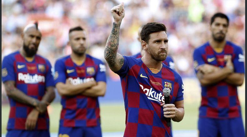 Messi no es llevado a Estados Unidos con el Barça