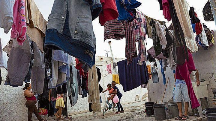 Así se convive en un refugio de migrantes