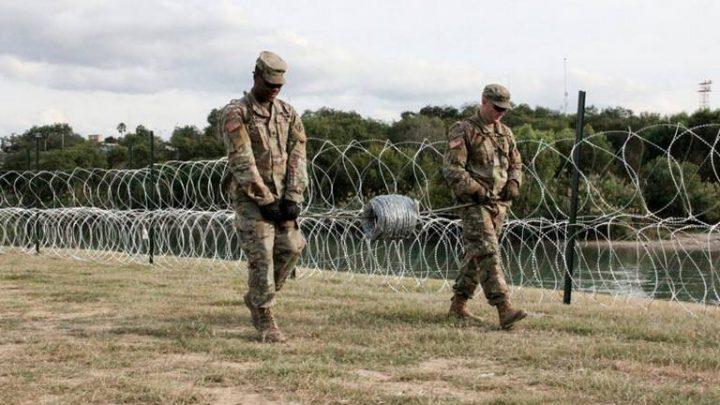 USA mantiene mas de 5 mil soldados en su frontera sur