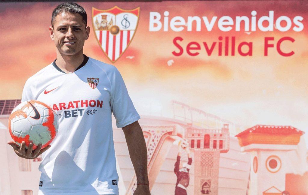 Chicharito Hernández vestirá la camisa del Sevilla en la liga Española