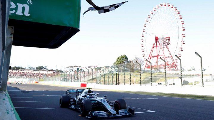 Mercedes y Bottas gana el GP Japón