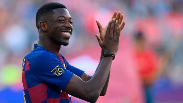 Barcelona batalla por quitar malos hábitos a Dembelé