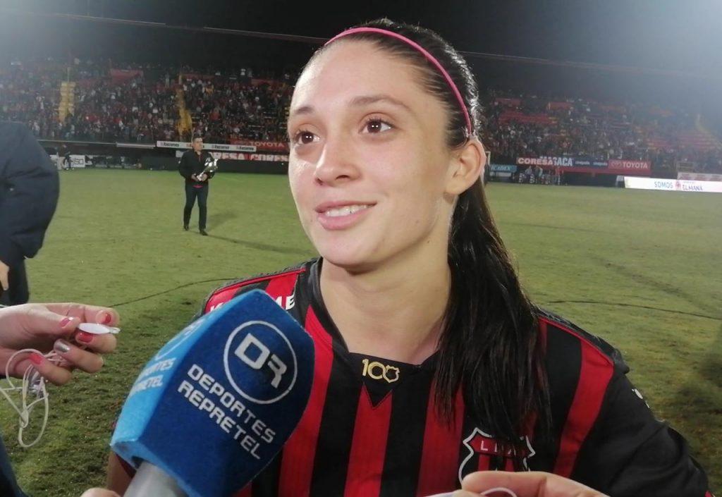 Priscilla Chinchilla: «Yo siempre confié en el apoyo de los liguistas»
