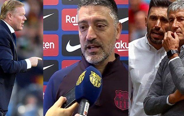 Barcelona en busca de entrenadores