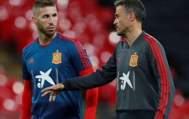 """Ramos es un gran líder y una gran persona… """"Luis Enrique"""""""