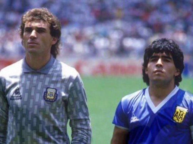 Nadie vio el gol con la mano de Maradona, yo no lo recuerdo dijo Nery Pumpido arquero de la selección Argentina 86