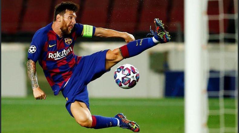 Messi entrena normalmente y Dembélé podría viajar a Lisboa