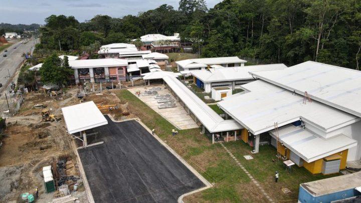 Modernas instalaciones del INA en Limón reportan un 67% de avance