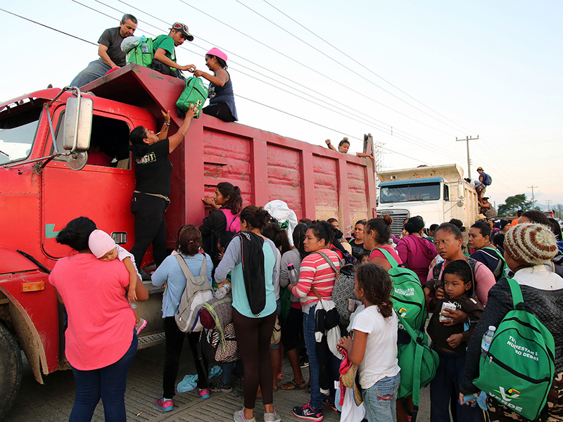 OIM reporta que cerca del 51% de migrantes de Centroamérica y México perdieron su trabajo por la pandemia