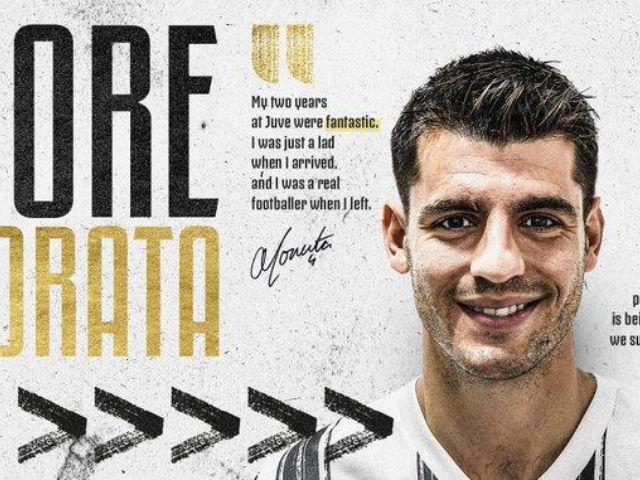 Morata a la Juve cedido por el Atlético