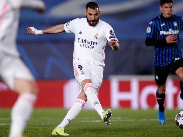 Por goleada Real Madrid vapulea al Atalanta y está en cuartos
