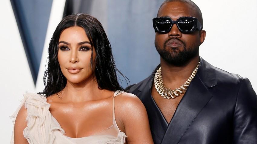 """""""Me trató como basura"""" … Kanye West arremete en contra de Kim Kardashian:"""