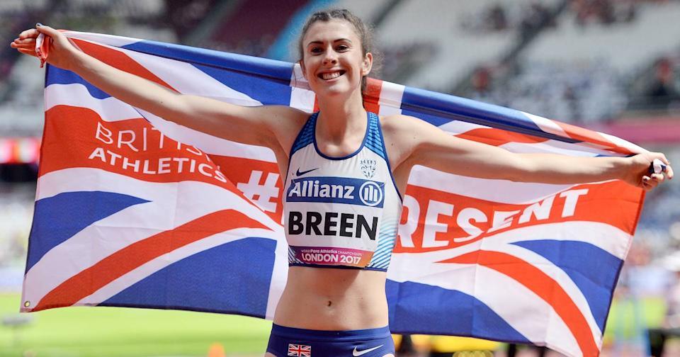Olivia Breen, atleta paralímpica está molesta porque le dijeron que sus shorts eran «muy reveladores»