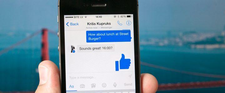 La nueva actualización de Facebook Messenger quiere acabar con Snapchat