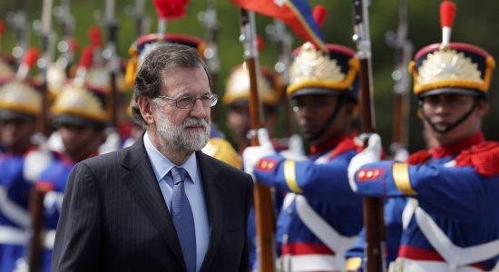 Izquierda quiere censurar a Rajoy