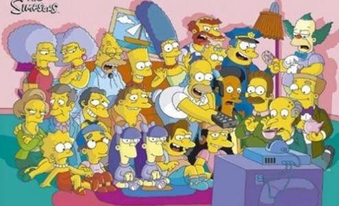 Esta es la divertida burla de Los Simpson en el día 100 del gobierno de Trump