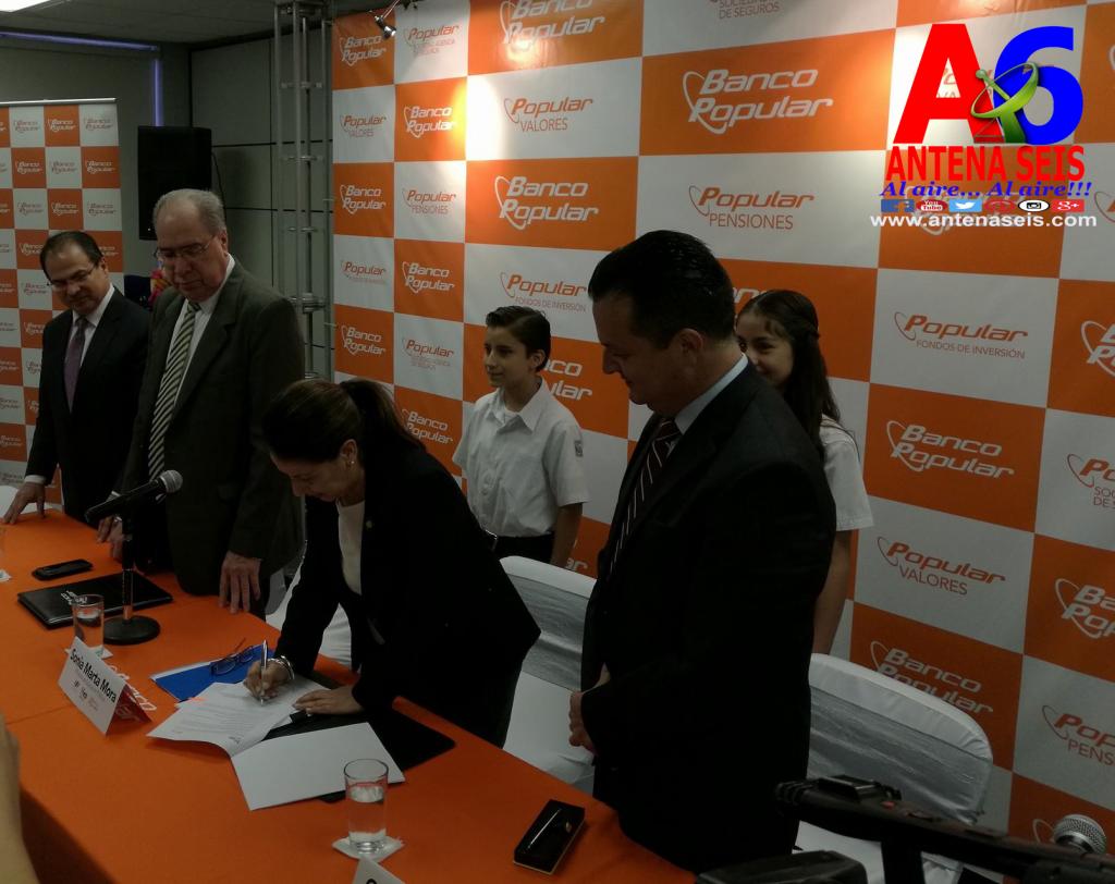 MEP y Banco Popular firman convenio para reforzar Educación Financiera en preescolar y primaria